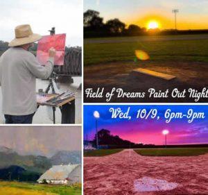 Field of Dreams Paint Out Night - Dyersville