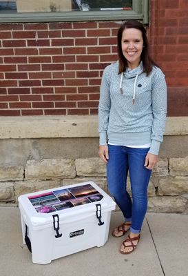 Visit Bluff Country - The Best of Bluff Country Contest Winner - Katie Harstad won a Grizzly Cooler