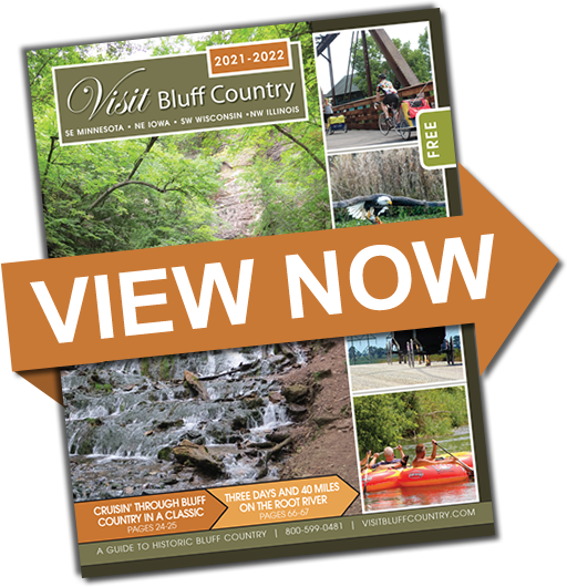 View the Visit Bluff Country Magazine