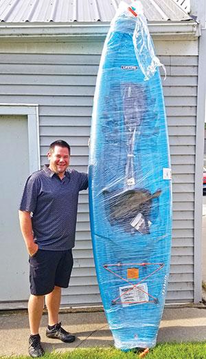 Second kayak winner of the summer